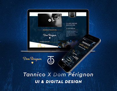 TANNICO X DOM PÈRIGNON EVENT (UI & DIGITAL DESIGN)