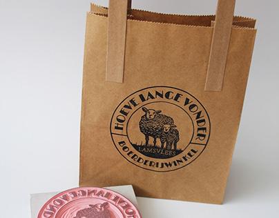 Hand carved stamp Farmersmarket