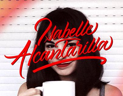 Caligrafia - Isabelle Alcantarilla (Belle Journal)