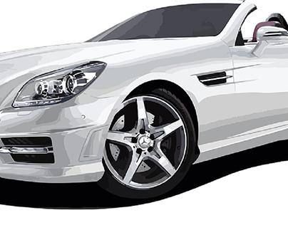 Shiny Silver Car