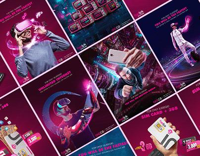 Social Media Ads Digital Campaign | FastlinkTelecom