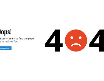 404 Error Designs