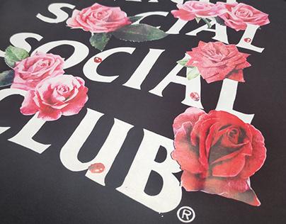 ANTI SOCIAL SOCIAL CLUB - ROSE VERSION - BLACK SHIRT