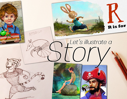 Fantasy and Children's Book illustration