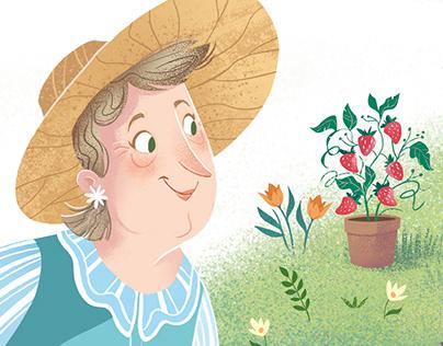 """""""Nana's garden"""" Clever Publishing"""
