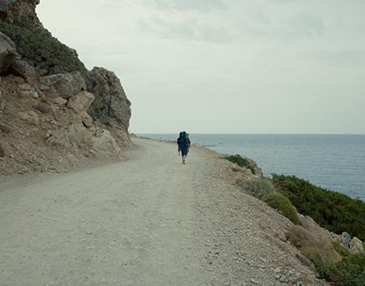 Hiking between Paleochara and Sougia.
