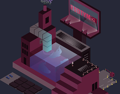 Rudtym Industries (Isometric Design)