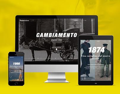 IL CAMBIAMENTO SIAMO NOI | Poste Italiane