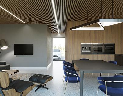 Interior Visuals Residential architecture