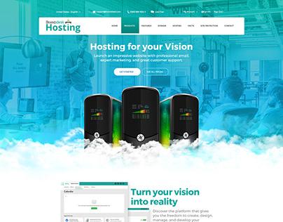 Hosting Website UI