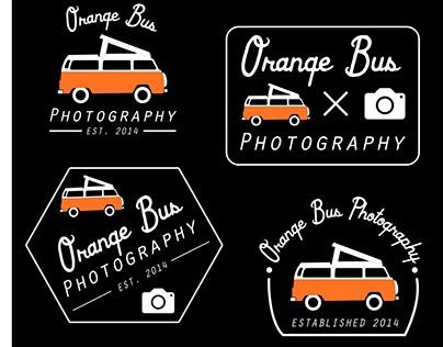 Orange Bus Photography