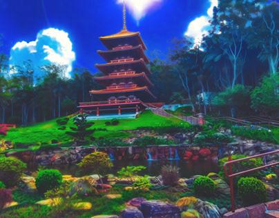 Templo Anime