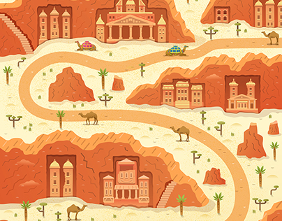 Two Dots Games Illustrated Maps