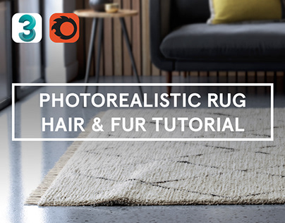 Create A Realistic Wool Rug Using Hair & Fur