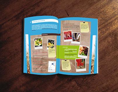 Editorial design and graphic design