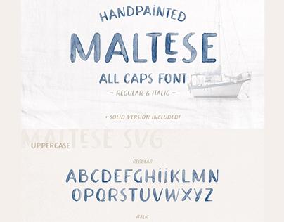 SVG Watercolor Font
