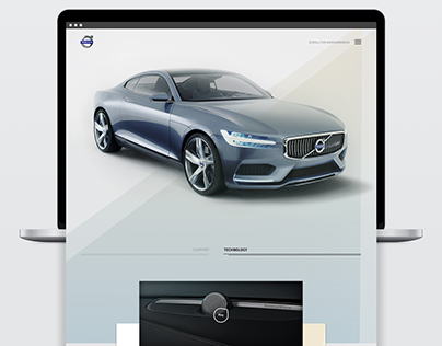 Volvo S90 Landing Page Redesign