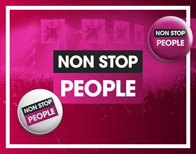 NON STOP PEOPLE Identidad
