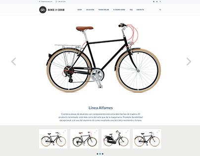 Sitio Web Responsive Bike or Bike