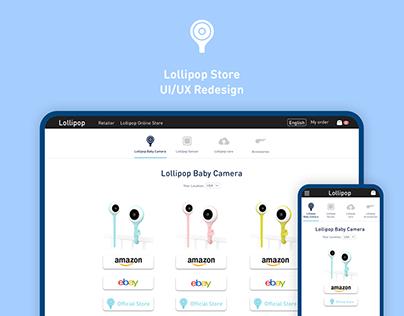 Lollipop Webstore - UI/UX Redesign