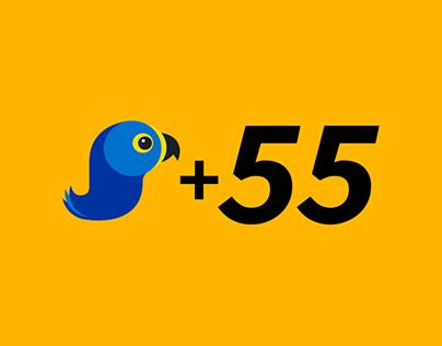 Design / UX / WP Development: +55Canga