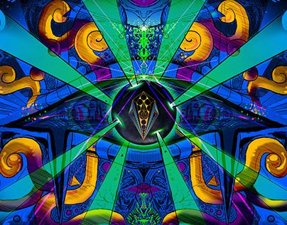 Lunar Eclectic – Quantum Anomaly. COVER DESIGN