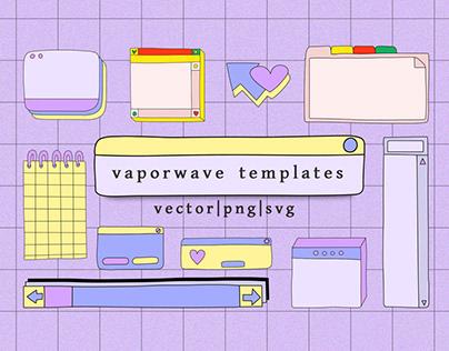 retro stickers - system windows (FREE DOWNLOAD DEMO)