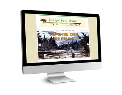 The River King - Bookmarks & Website
