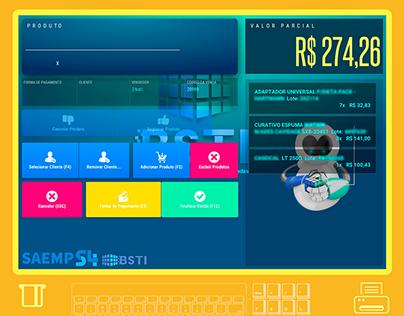 Saemp Cash - Development Full Stack