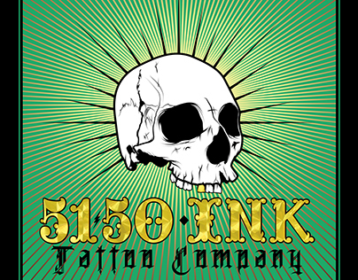 5150 Ink Tattoo Company Flyer