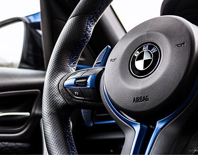 BMW interior photoshoot