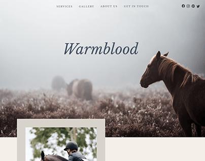 Warmblood   Equine Theme For Wordpress