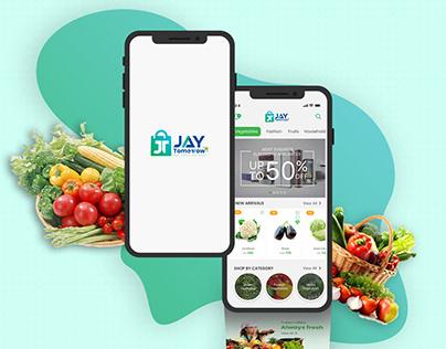 Jay Tomorrow Customer Mobile Application