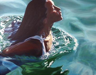 Ocean Paintings 2016