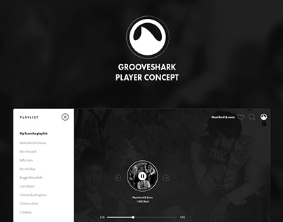 Concept: Grooveshark Basic Player