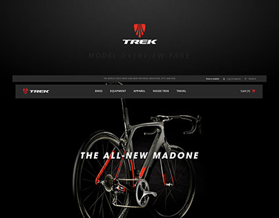 Trek Bikes Madone Product Page
