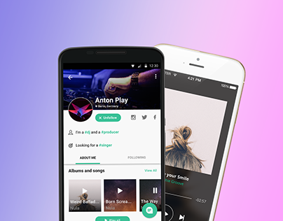 We are music, native app