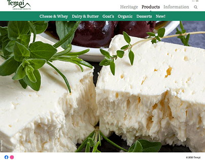 Tempi - Greek Dairy Products