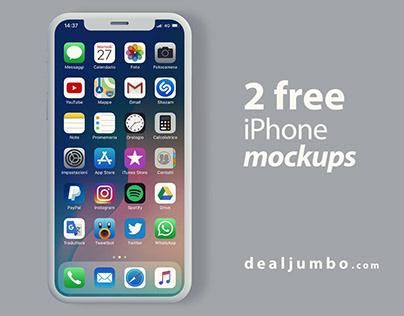 iPhone – Free Mockups