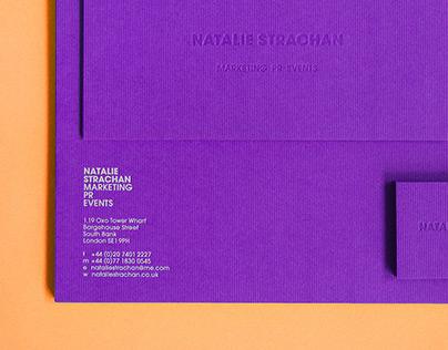 Natalie Strachan PR: Identity