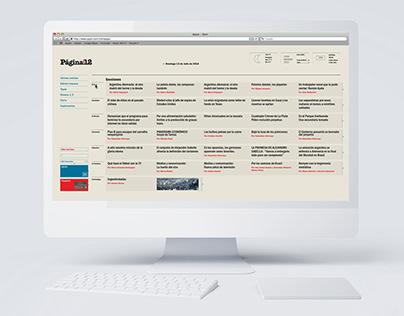 Interfaz Gráfica para periódico on-line