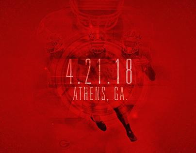 2017-18 Georgia Athletics Graphics