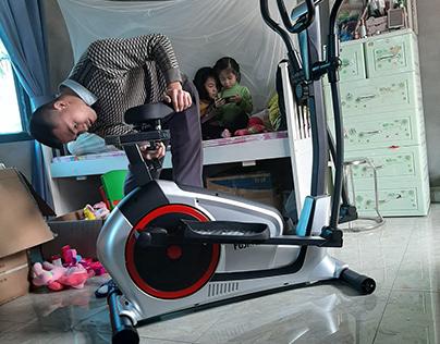 Xe đạp tập thể dục Fuji Luxury MK-113