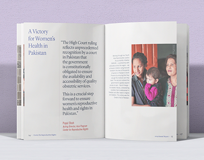 Center for Reproductive Rights Annual Report, 2019