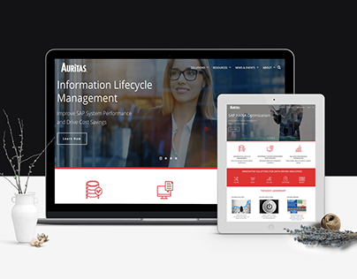 Auritas-Web development and design