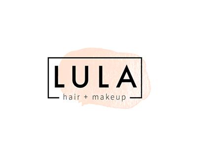 LULA hair + makeup Branding