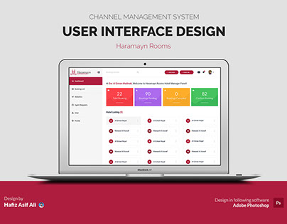 User Interface Design for Channel Management System