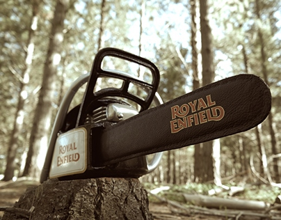 Royal Enfield inspired Chainsaw