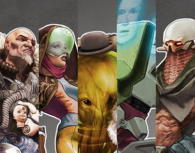 Beyond Human Character Design (ArtStation Challenge)