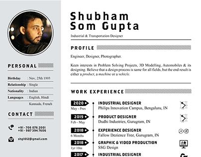 Resume - Shubham Gupta